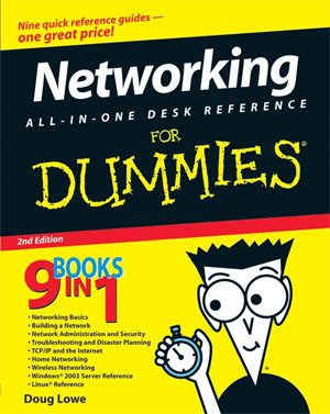 Networking all in one desk reference for dummies  2nd edition   - Lowe D.