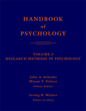 Handbook of psihology vol 02 - Schinka J.A